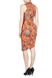Nicole Miller Floral Swirl Tuck - Front full body