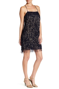 Shoptiques Product: Foil Fringe Chiffon Dress