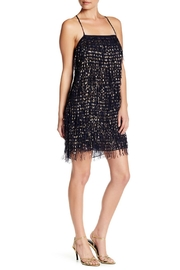 Nicole Miller Foil Fringe Chiffon Dress - Product Mini Image