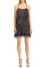 Nicole Miller Fringe Shift Dress - Product Mini Image