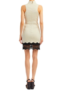 Nicole Miller High Neck Panel Dress - Alternate List Image