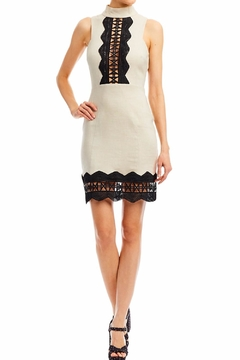 Nicole Miller High Neck Panel Dress - Product List Image