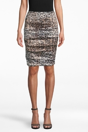 Nicole Miller Leopard Sandy Skirt - Product Mini Image