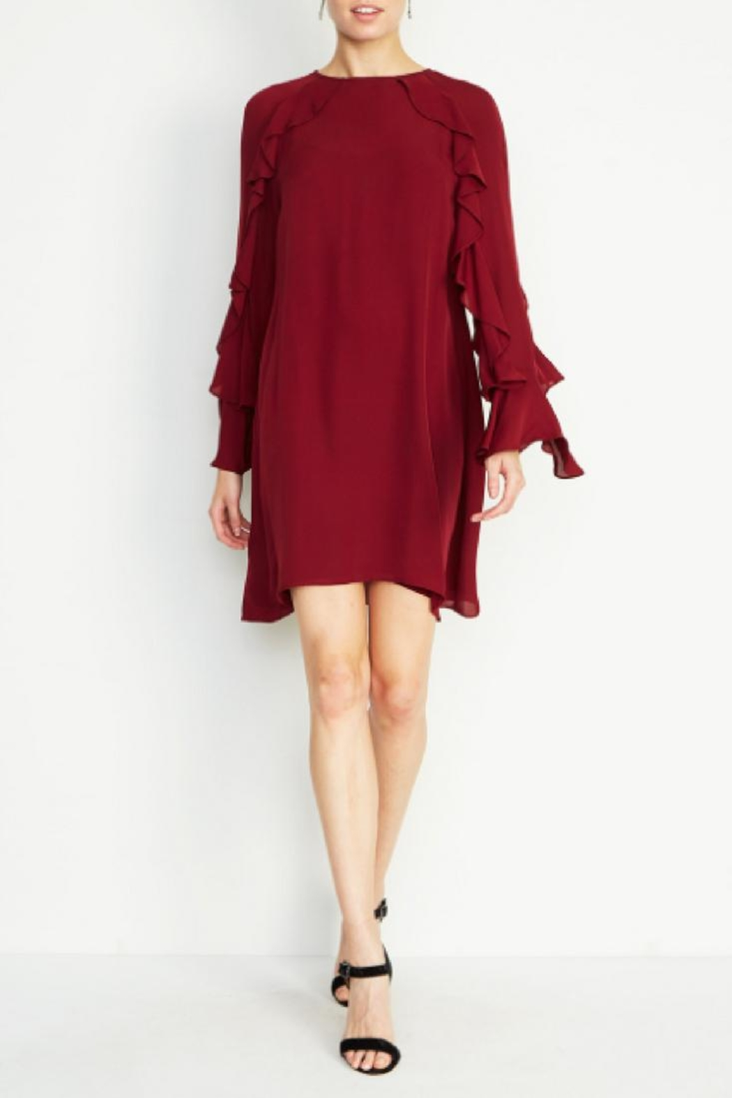 Nicole Miller Lera Bell-Sleeve Dress - Main Image