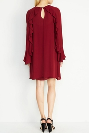 Nicole Miller Lera Bell-Sleeve Dress - Front full body