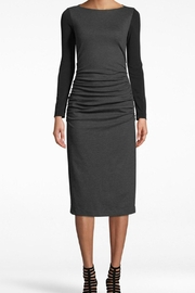 Nicole Miller Ponte Ruched Dress - Product Mini Image