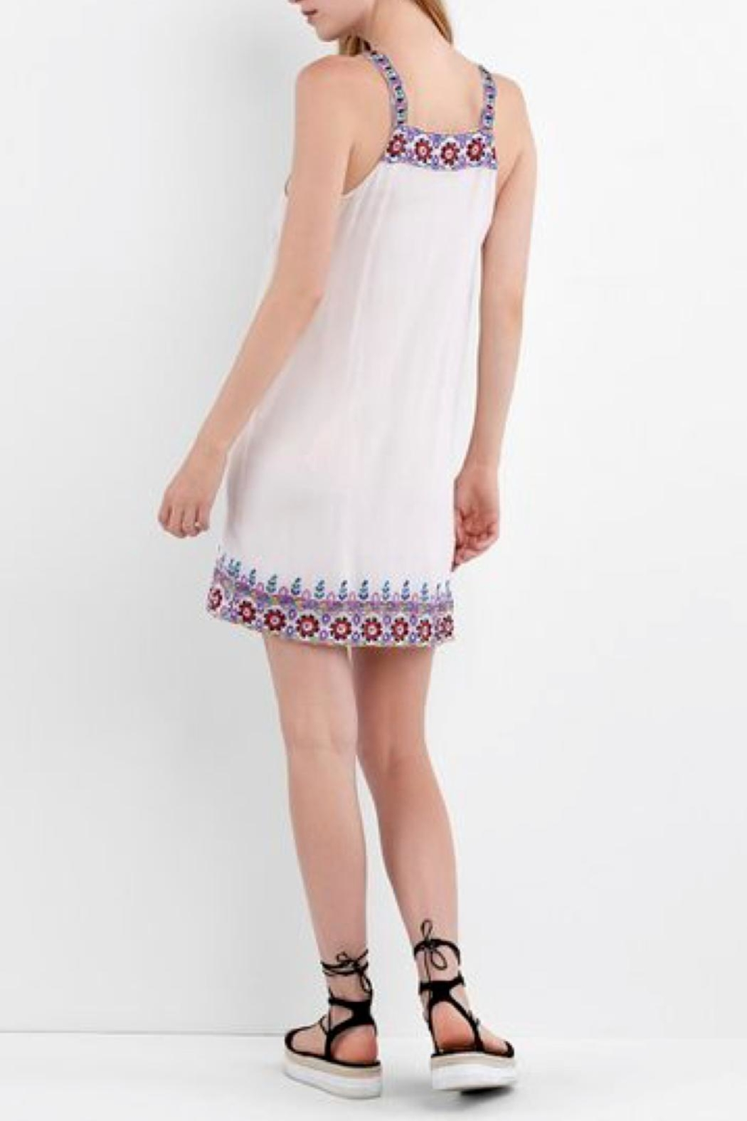 Nicole Miller Portofino Beaded Dress - Front Full Image