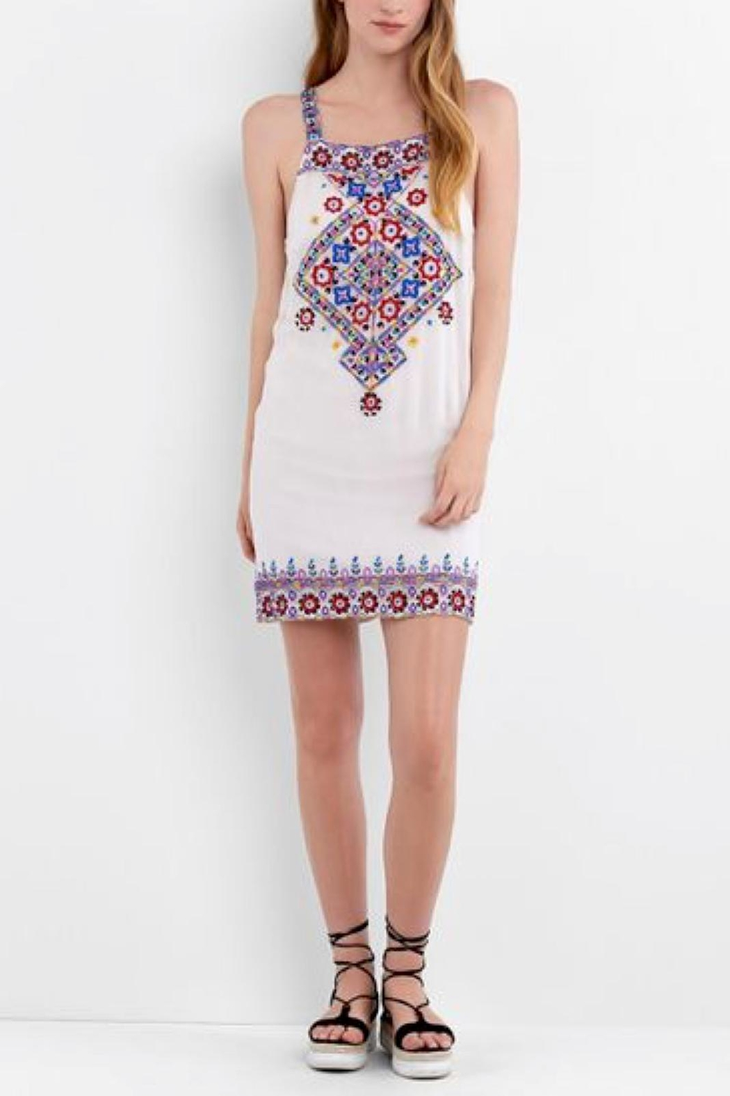 Nicole Miller Portofino Beaded Dress - Main Image