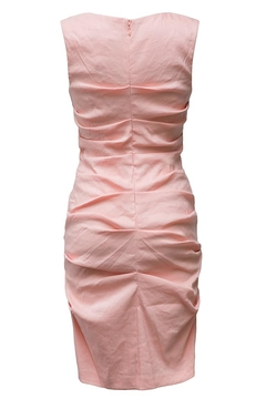 Nicole Miller Ruched Shift Dress - Alternate List Image