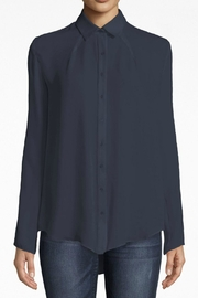 Nicole Miller Silk Boyfriend Shirt - Product Mini Image