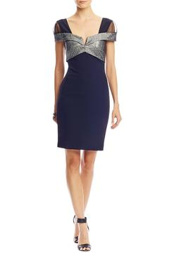 Nicole Miller Sparkle Capsleeve Dress - Product List Image