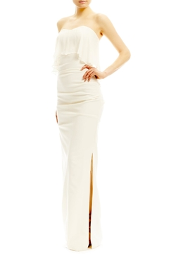 Shoptiques Product: Strapless Combo Gown