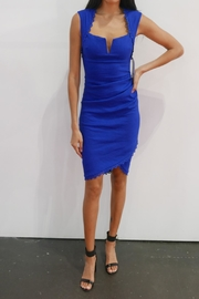 Nicole Miller Sweetheart Ruched Dress - Front cropped