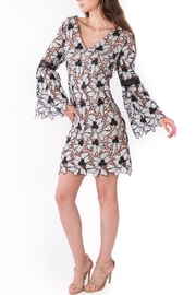 Nicole Miller Wb Flower Dress - Product Mini Image