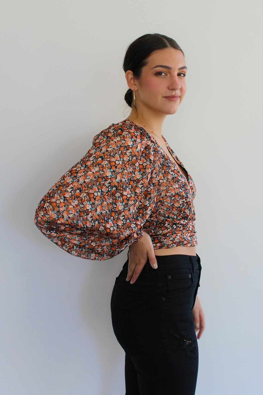 RESET BY JANE Nicolette Wrap Top - Main Image