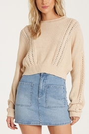Billabong Night Falls Cable Knit Sweater - Product Mini Image