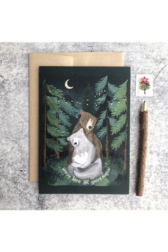Little Pine Artistry Night Forest Card - Alternate List Image
