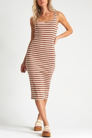 Billabong Night Moves Stripe Dress - Front cropped