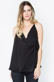 R+D emporium  Night Out Drape Top - Front cropped