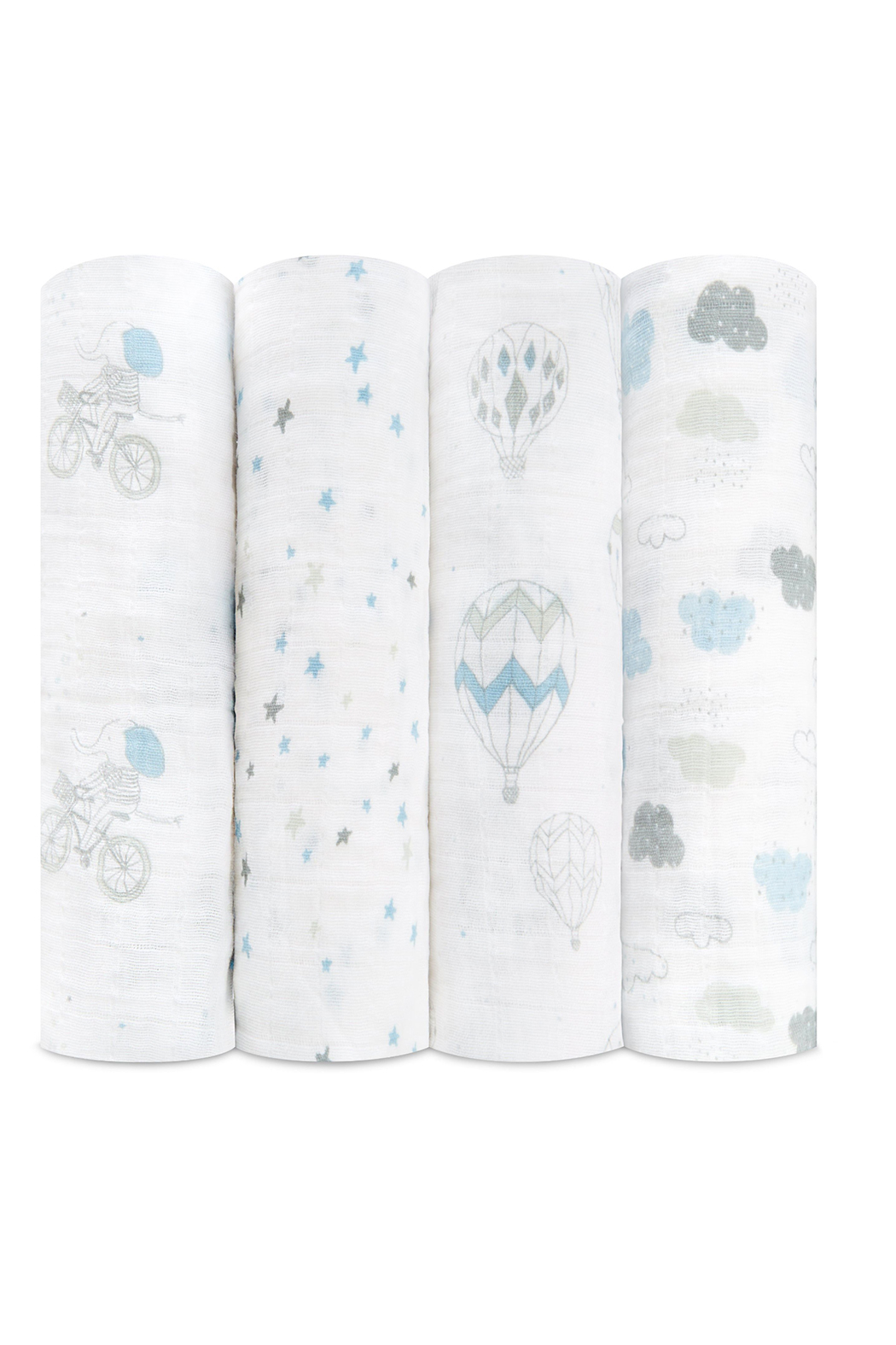 Aden + Anais Night Sky Reverie 4 Pack Classic Swaddles - Front Full Image