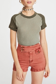 Free People Night-Sky Tee Raglan - Product Mini Image