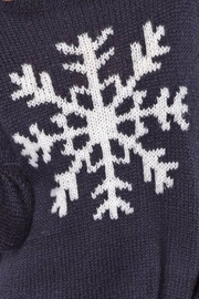 Wooden Ships Night Snowflake Crewneck - Side cropped