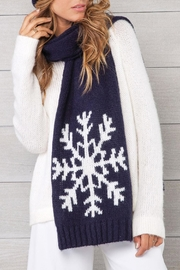 Wooden Ships Night Snowflake Scarf - Product Mini Image