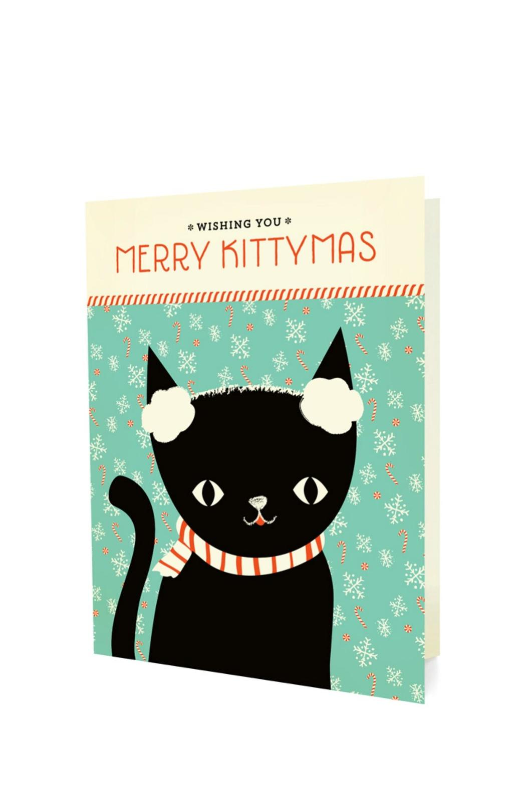 Night Owl Paper Goods Kitten Christmas Cards from Orange County by ...