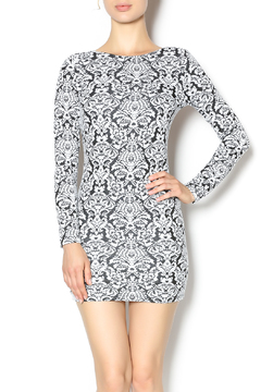Nightcap Clothing Black White Floral Dress - Product List Image