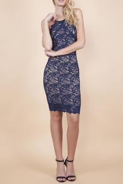 Shoptiques Product: Navy Lace Mini