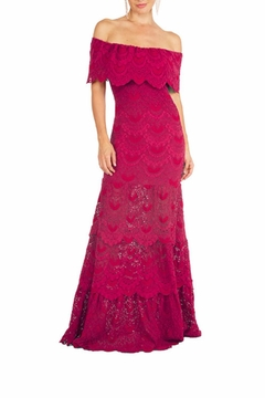 Nightcap Clothing Positano Lace Maxi Dress - Alternate List Image