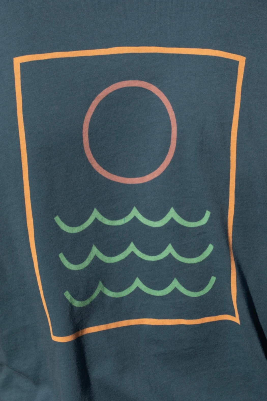 Mollusk Nighttide LS Tee - Back Cropped Image
