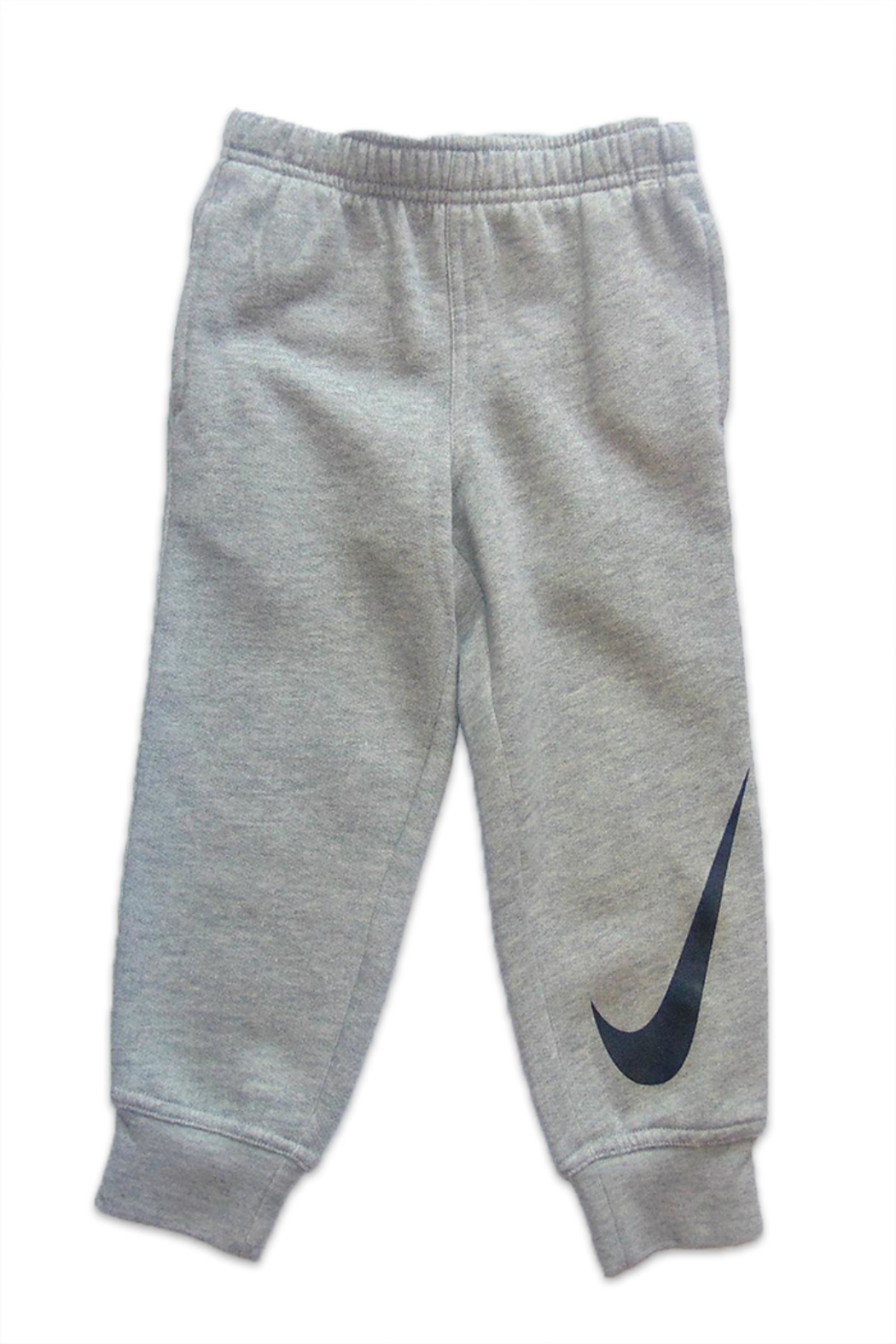 Nike Kids Grey Jogger Pants - Front Cropped Image