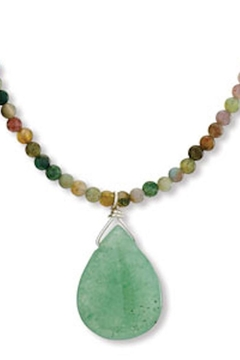 Tiger Mountain Aventurine And Agate Necklace - Alternate List Image