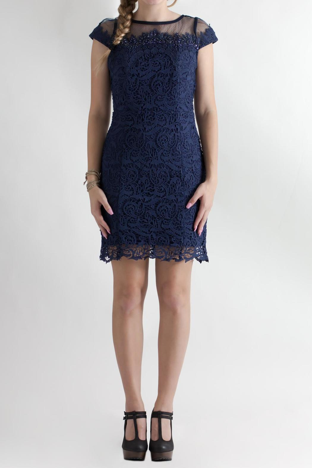 Nikibiki Beaded Lace Dress - Main Image