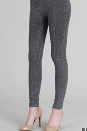 Nikibiki Braid Knit Leggings - Product Mini Image