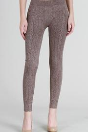 Nikibiki Cable Knit Leggings - Product Mini Image