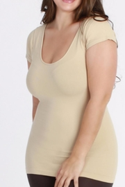 Nikibiki Cap-Sleeve Camisole - Plus - Product Mini Image