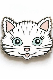 Smarty Pants Paper Cat Pin - Product Mini Image