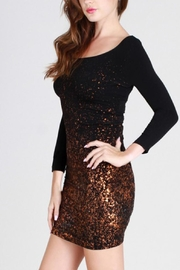 Nikibiki Copper Bodycon Dress - Product Mini Image