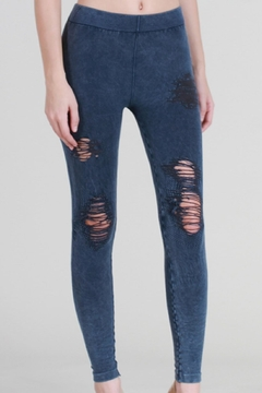 Shoptiques Product: Distressed Knee Leggings