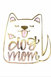 Hennel Paper Co Dog Mom Pin - Product Mini Image