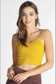 Nikibiki Double-Skinny Cropped Cami - Product Mini Image