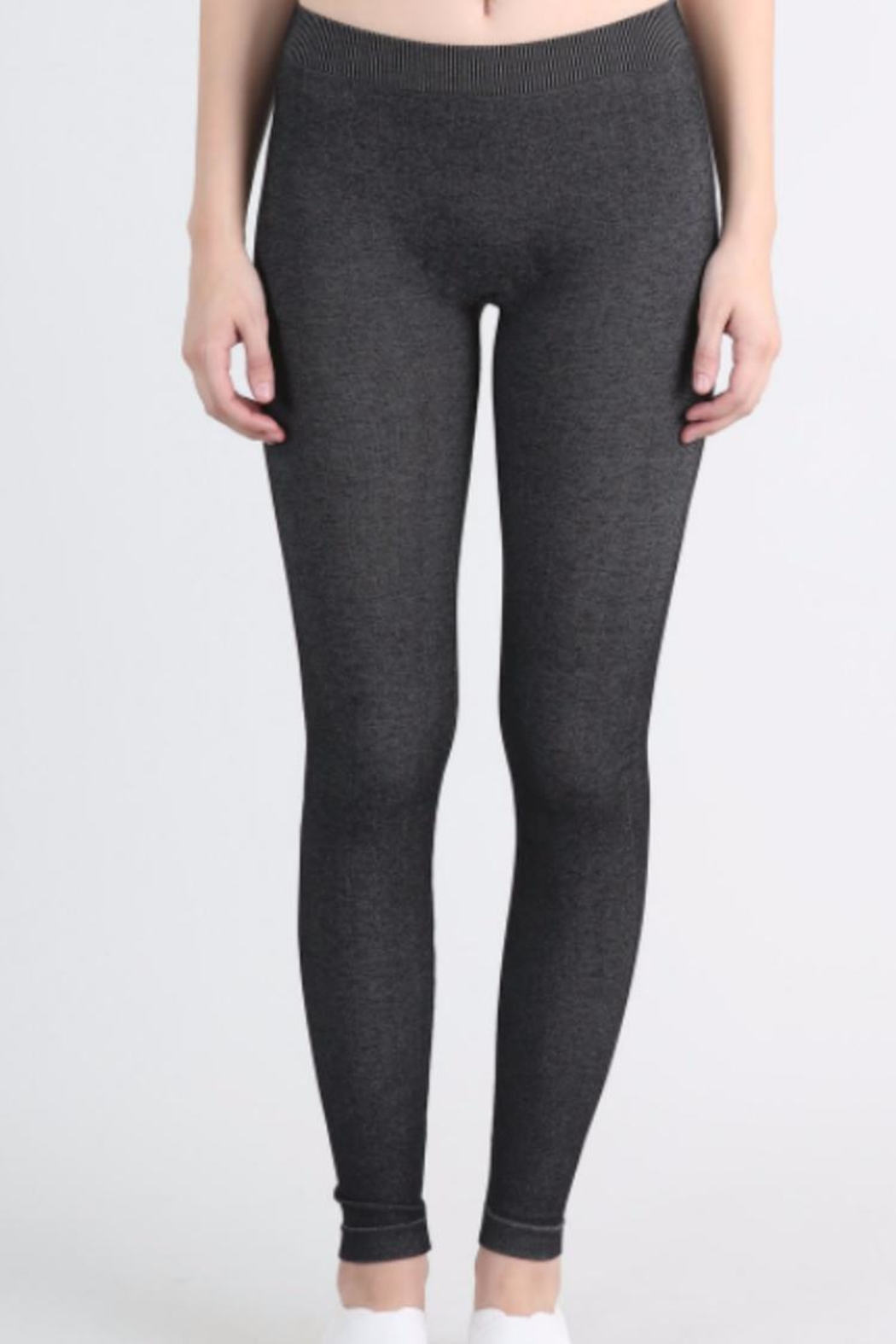 Nikibiki Favorite Textured Leggings - Front Full Image