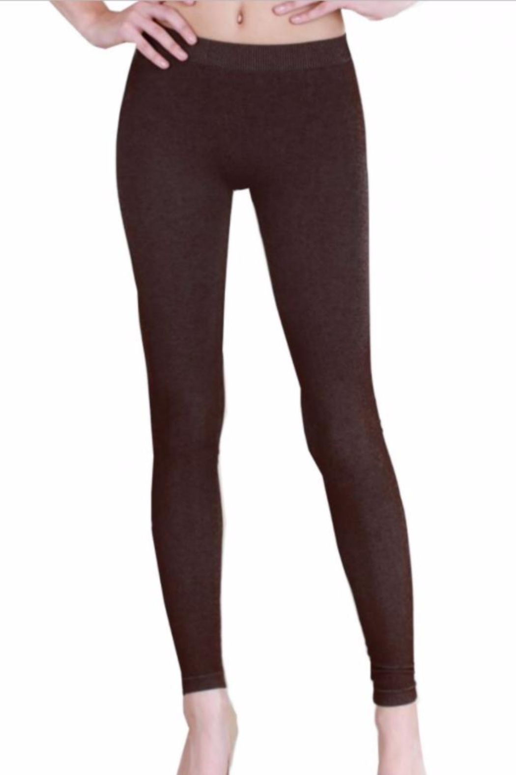 Nikibiki Favorite Textured Leggings - Front Cropped Image