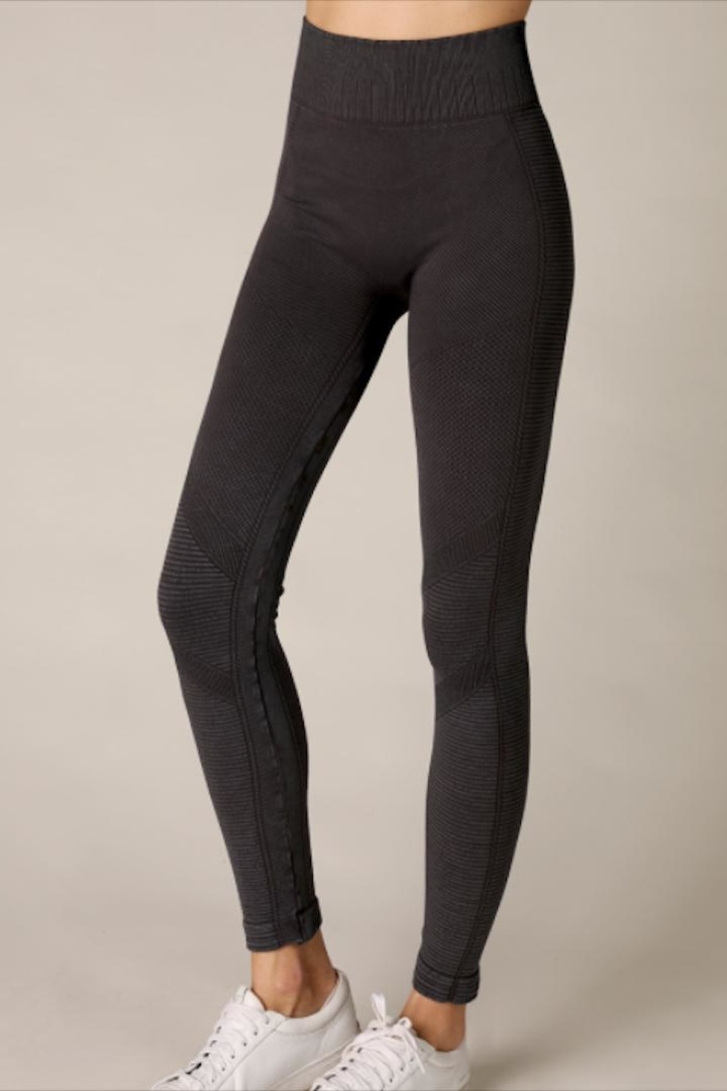 Nikibiki High-Waist Moto Jegging - Main Image
