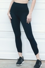 Nikibiki Key Hole Leggings - Front cropped