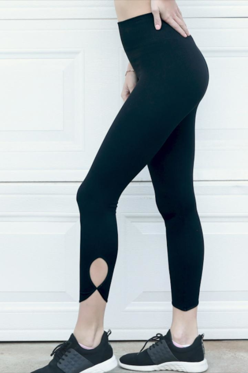 Nikibiki Key Hole Leggings - Front Full Image