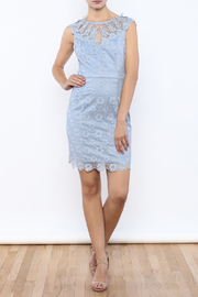 Nikibiki Lace Embroidered Dress - Front full body