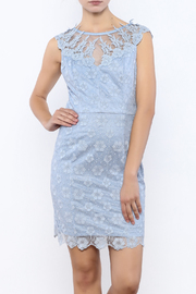Nikibiki Lace Embroidered Dress - Product Mini Image